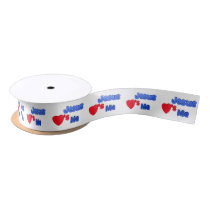 Jesus Loves Me Adorable Christian Ribbon