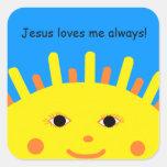 Jesus Loves Me Always Sticker