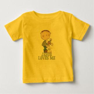 Jesus Loves Me Boy Tee Shirts