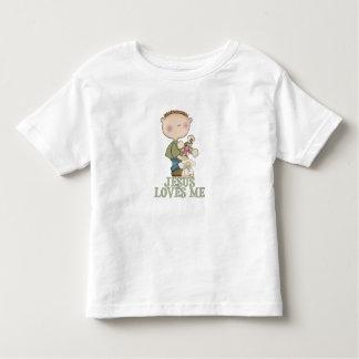 Jesus Loves Me Boy Toddler T-shirt