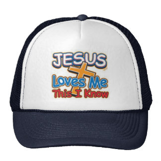 Jesus Loves Me  Cap Trucker Hat
