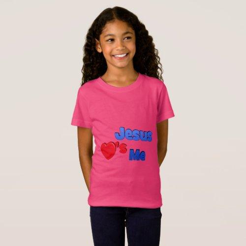Jesus Loves Me Children's T-Shirt