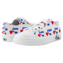 Jesus Loves Me Christian Printed Shoes