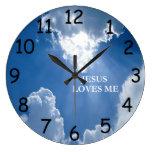 Jesus Loves Me Clock