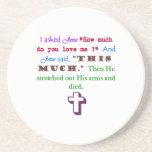 Jesus Loves Me Coaster