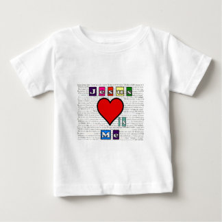 Jesus Loves Me Collection Baby T-Shirt