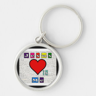 Jesus Loves Me Collection Keychain