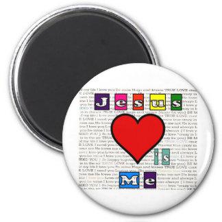 Jesus Loves Me Collection Magnet