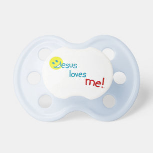 Jesus loves me !  Collection Pacifier