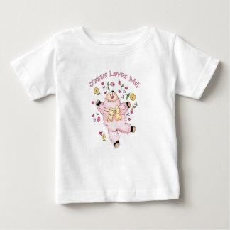 Jesus Loves Me Dancing Lamb T-shirt