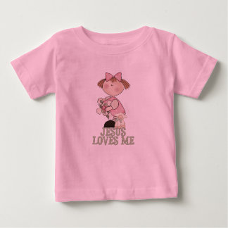 Jesus Loves Me Girl Shirt