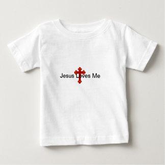 Jesus Loves Me Infant T Shirt