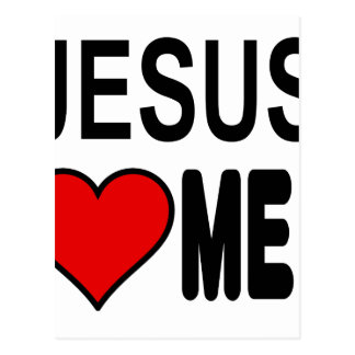 Jesus Loves Me Jesus Gifts Post Card
