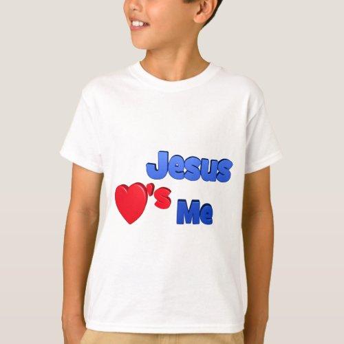Jesus Loves Me Kids' T-Shirt