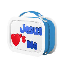 Jesus Loves Me Lunchbox