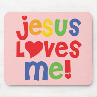 Jesus Loves Me! - Mousepad