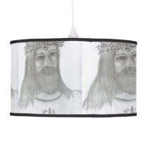 Jesus Loves Me Pendant Lamp