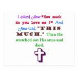 Jesus Loves Me Post Cards