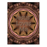 Jesus Loves Me Postcards