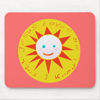 Jesus Loves Me Products Mouse Pad