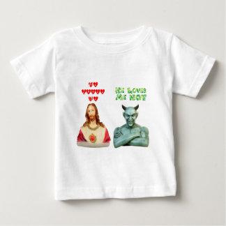 Jesus Loves Me... satan loves me not... Baby T-Shirt