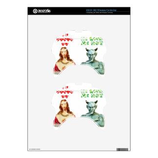 Jesus Loves Me satan loves me not Xbox 360 Controller Skin