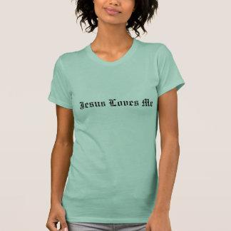 Jesus Loves Me, Short Sleeve T-Shirt