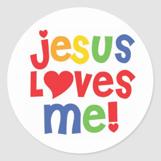 Jesus Loves Me! - sticker