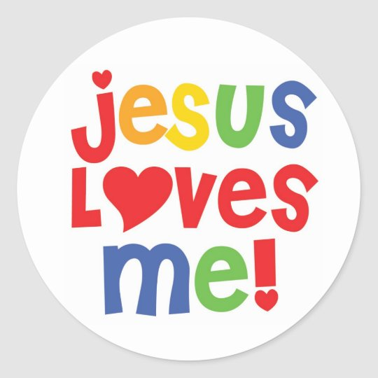 Jesus Loves Me! - sticker