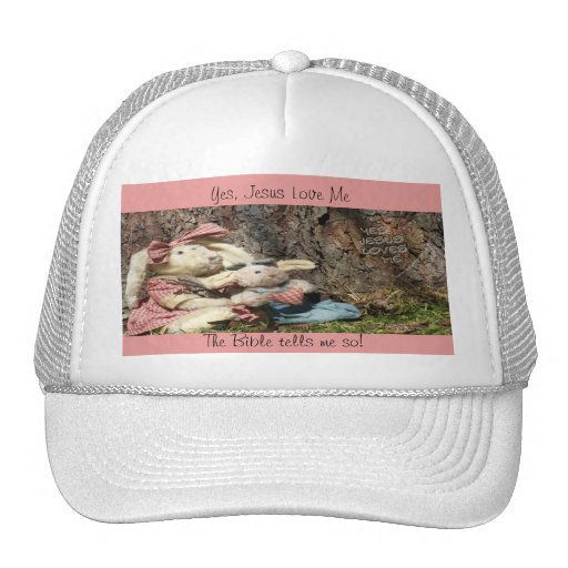 Jesus Loves Me Trucker Hat