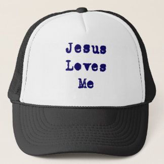 Jesus Loves Me Trucker Hat