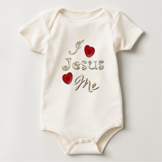 Jesus Loves Me Baby Creeper