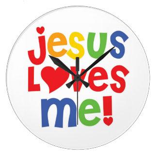 Jesus Loves Me! Wall Clock