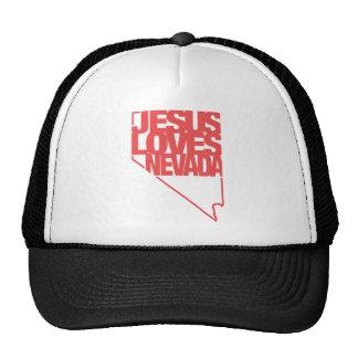 Jesus Loves Nevada Trucker Hat