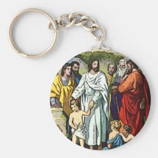 Jesus Loves The Little Children Keychains