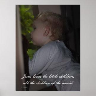 Jesus loves the little children.. Print