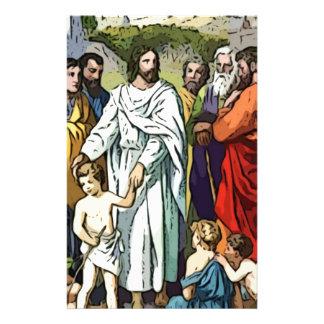 Jesus Loves The Little Children Stationery