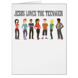 JESUS LOVES THE TEENAGER GREETING CARDS