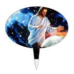 Jesus-Loves-The-World Cake Picks