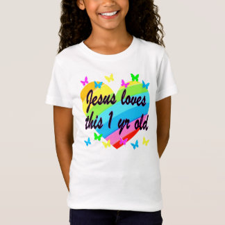 JESUS LOVES THIS 1 YEAR OLD BIRTHDAY DESIGN T-Shirt