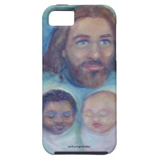 Jesus Loves You and Me iPhone SE/5/5s Case