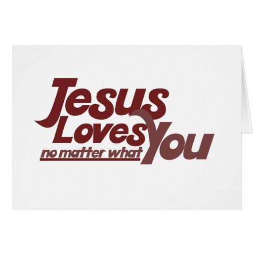 Jesus Loves You Card