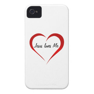 Jesus loves You Case-Mate iPhone 4 Case