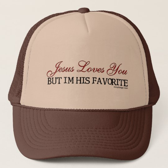 Jesus Loves You Favorite Trucker Hat