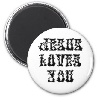 Jesus Loves YOU Magnet
