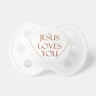 Jesus Loves You Pacifier