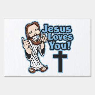 Jesus Loves You Sign