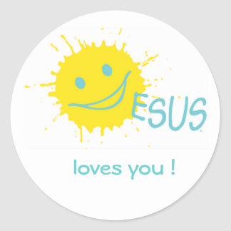 Jesus loves you ! Sticker