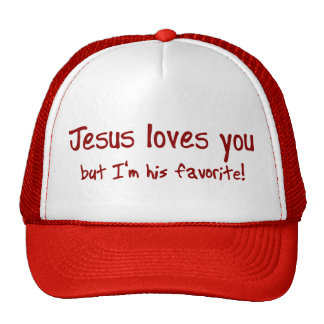 Jesus Loves You! Trucker Hat