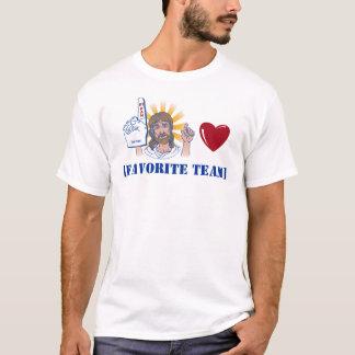 Jesus Loves ... your favorite team T-Shirt